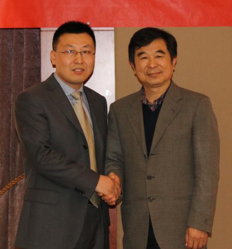 靳双权律师与住建部住房政策专家委员会副主任顾云昌先生