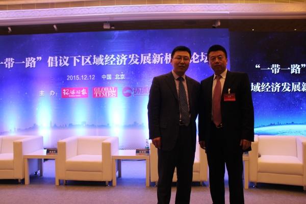 靳律师与中国产业海外发展协会秘书长和振伟合影