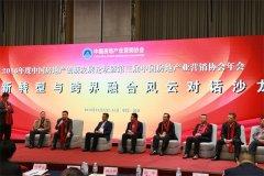 靳律师在2016年度房地产营销协会创新与跨界融合对话沙龙上发言